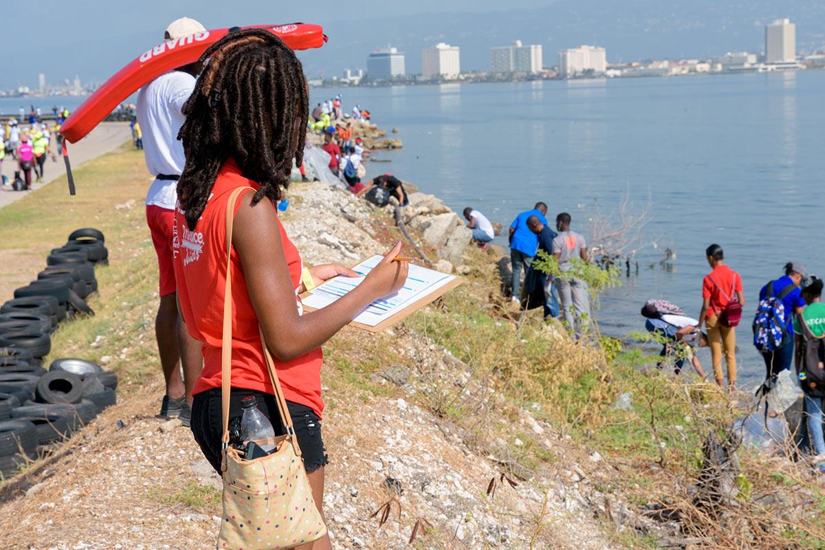 JET Beach Cleanup 2018